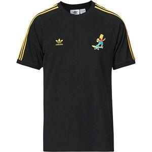 adidas Originals The Simpsons Crew Neck Tee Black