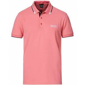 Boss Athleisure Paddy Pro Polo Pastel Red