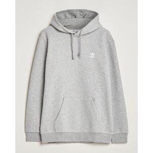 adidas Originals Essential Trefoil Hoodie Grey Melange