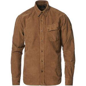 Belstaff Pitch Corduroy Shirt Earth