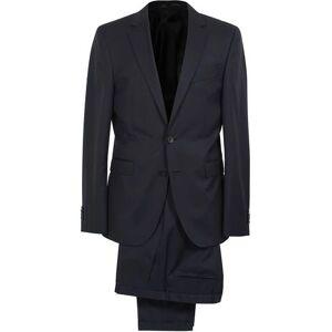 Boss Ryan Slim Fit Wool Suit Dark Blue
