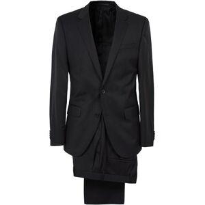 Boss Hayes Regular Fit Wool Suit Black