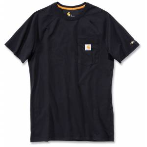Carhartt Force Sotton T-skjorte Svart XL