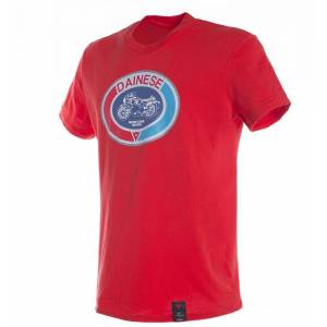Dainese Moto72 T-skjorte Rød L