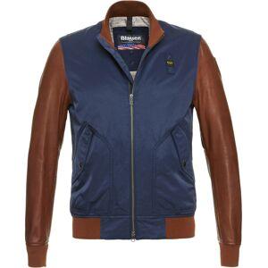 Blauer USA Rockwell Jakke Blå Brun XL