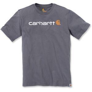 Carhartt EMEA Core Logo Workwear Short Sleeve T-skjorte Grå XS