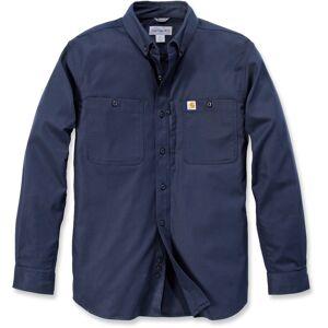 Carhartt Rugged Professional Work Langermet skjorte Blå L
