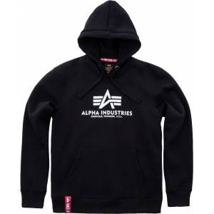 Alpha Industries Basic Hettegenser Svart S