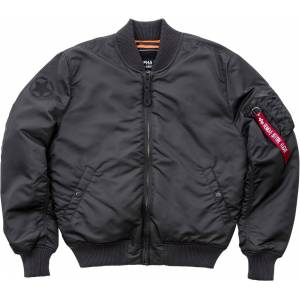 Alpha Industries MA-1 VF Army Jakke Svart Grå L