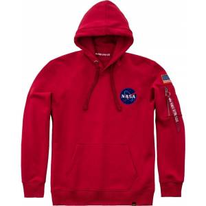 Alpha Industries Space Shuttle Hettegenser Rød S