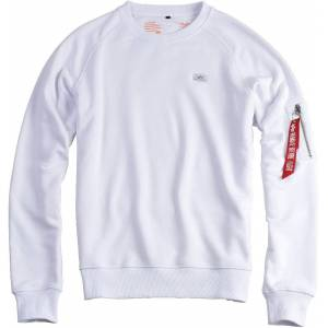 Alpha Industries X-Fit Sweatshirt Hvit 3XL