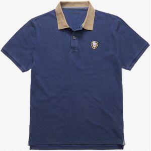 Blauer USA Vintage Poloshirt Blå L