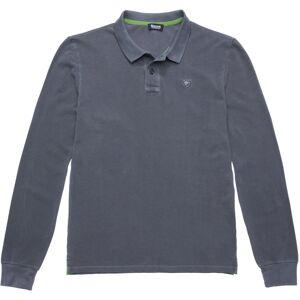 Blauer USA Langarma Poloshirt Grå XL