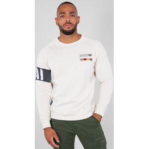Alpha Industries STP Sweatershirt Beige L