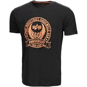 Alpha Industries Anniversary T-shirt Svart 2XL