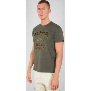 Alpha Industries Alpha FJ T-shirt Grønn S