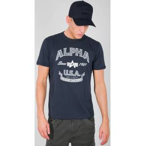 Alpha Industries Alpha FJ T-shirt Blå L