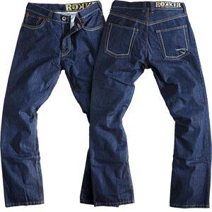 Rokker Original Jeans RAW Motorsykkel bukser 32 Blå