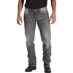 Rokker Rebel Motorsykkel Jeans 40 Grå