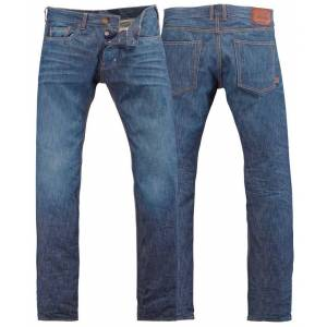 Rokker Rokka Daytona Stone Wash Jeans Bukser 32 Blå