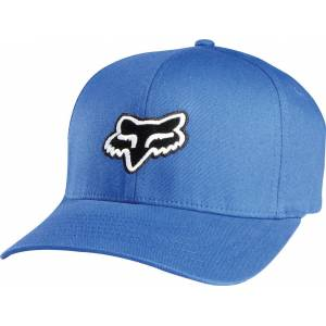 FOX Legacy Flexfit Cap XS S Hvit Blå