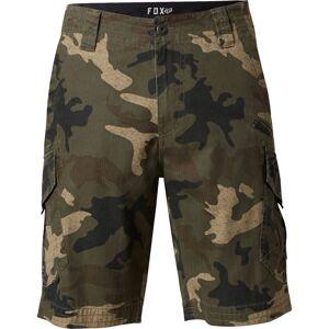 FOX Slambozo Cargo Camo Shorts 30 Grønn