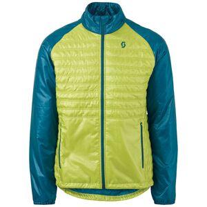 Scott Insuloft Light Tekstil jakke M Blå Gul