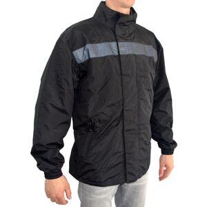 Helstons Storm Rain Jacket L Svart