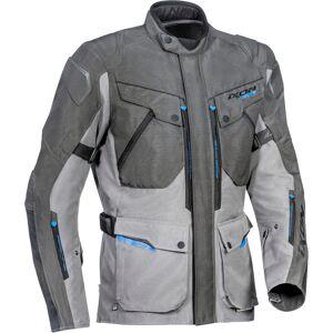 Ixon Crosstour HP Motorsykkel tekstil jakke M Grå