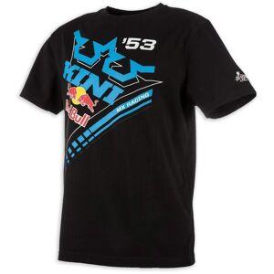 Kini Red Bull Ribbon T-shirt L Svart