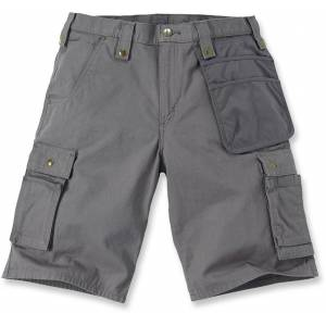 Carhartt Multi Pocket Ripstop Shorts 40 Grå