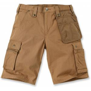 Carhartt Multi Pocket Ripstop Shorts 40 Brun