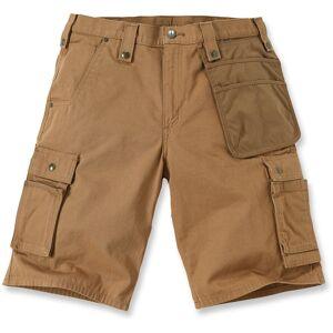 Carhartt Multi Pocket Ripstop Shorts 40 Brun