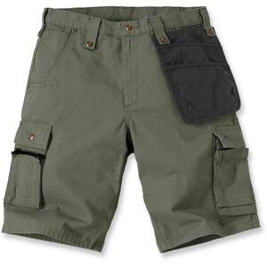 Carhartt Multi Pocket Ripstop Shorts 42 Grønn