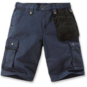 Carhartt Multi Pocket Ripstop Shorts 34 Blå