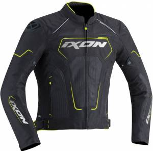 Ixon Zephyr Air HP Tekstil jakke 3XL Svart Gul