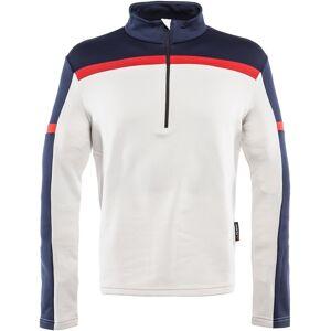 Dainese HP2 Half Zip Funcionar skjorte S Hvit Rød Blå