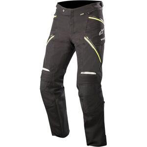 Alpinestars Big Sure Gore-Tex Pro Motorsykkel tekstil bukser 4XL Svart Gul