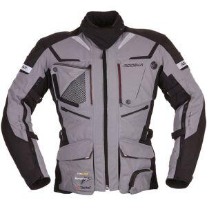 Modeka Panamericana Motorsykkel tekstil jakke 4XL Svart Grå