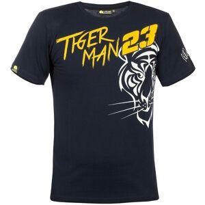 VR46 23 Tiger Man T-skjorte 2XL Svart Oransje