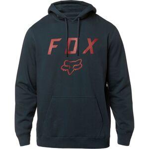 FOX Legacy Moth Po Fleece Hettegenser L Rød Blå