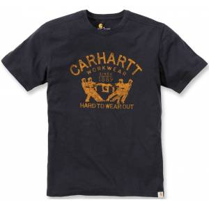Carhartt Hard To Wear Out T-skjorte 2XL Svart