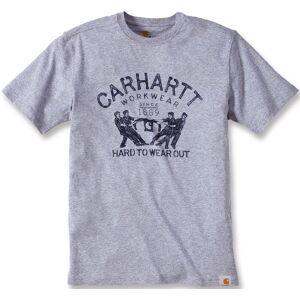 Carhartt Hard To Wear Out T-skjorte XS Grå