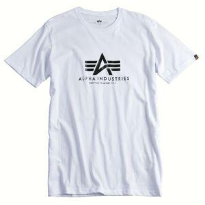 Alpha Industries Basic T-skjorte L Hvit
