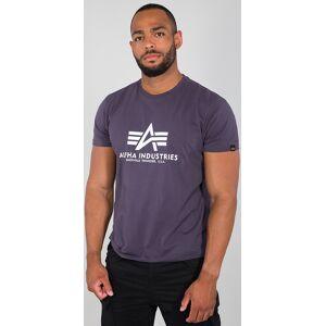 Alpha Industries Basic T-skjorte S Lilla
