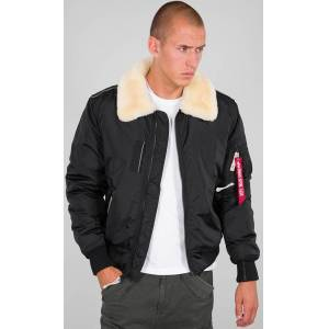 Alpha Industries Injector III Jakke 2XL Svart Beige