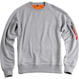 Alpha Industries X-Fit Sweatshirt 2XL Grå