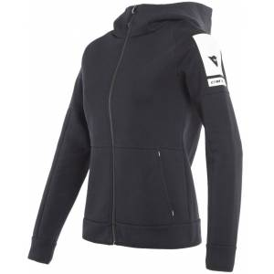 Dainese Full-Zip Ladies Hettegenser XS Svart