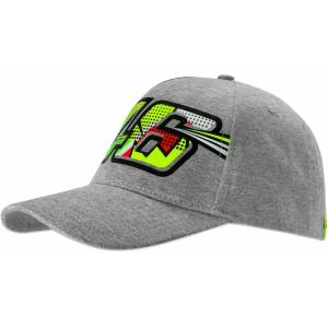VR46 Pop Art Ladies Cap en størrelse Grå