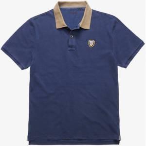 Blauer USA Vintage Poloshirt L Blå